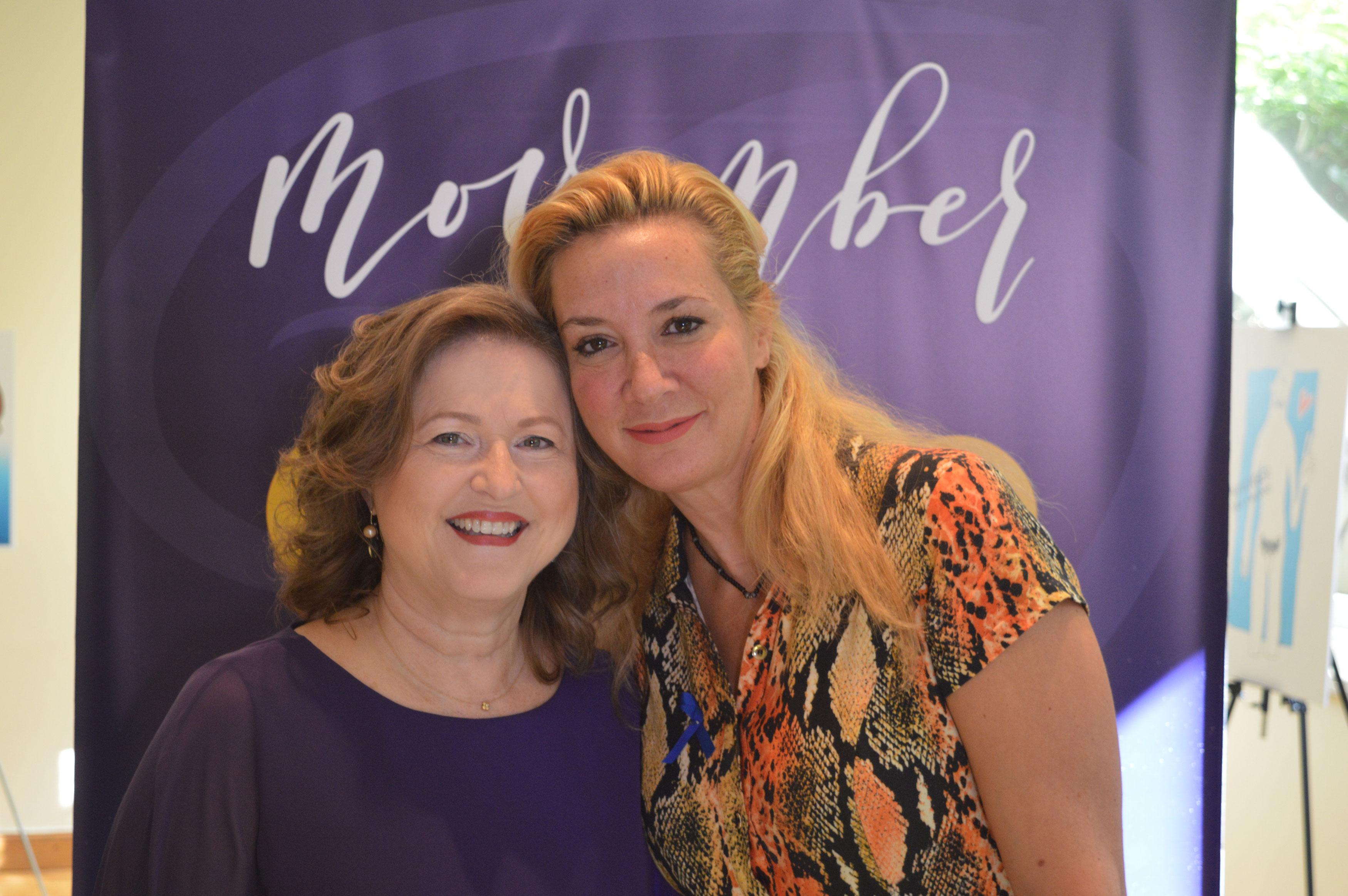 Η Πρόεδρος της ΑΚΟΣ Δρ. Δέσποινα Κατσώχη και η δημοσιογράφος Μαρία Νικόλτσιου.