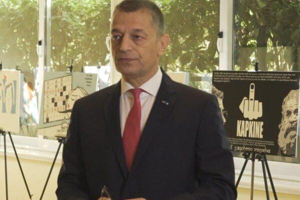 Αλκιβιάδης Στεφανής - υφυπ. Εθνικής Άμυνας & πρώην αρχηγός ΓΕΣ