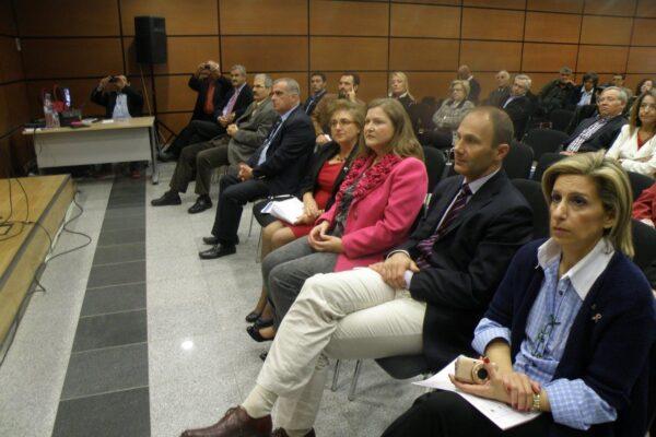 Ενημερωτική εκδήλωση με τίτλο «Η πρόληψη του καρκίνου και η φροντίδα του αποθεραπευμένου» στην αίθουσα πολλαπλών χρήσεων του δήμου Δράμας.
