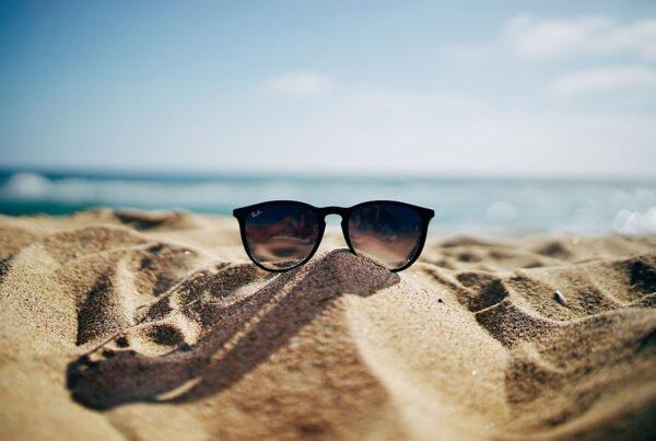 γυαλιά ηλίου, φακοί, σκελετός, ήλιος, δερματίτιδα
