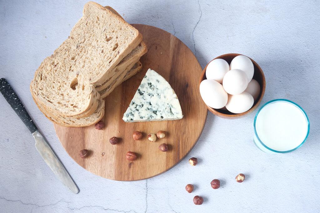 ασβέστιο, γάλα, πρωτεΐνες, φυτικές ίνες, αμύγδαλα